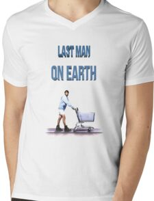 Last Man On Earth Mens V-Neck T-Shirt