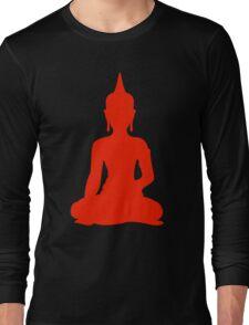 Red Buddha Long Sleeve T-Shirt