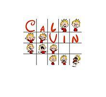 Calvin face  Photographic Print