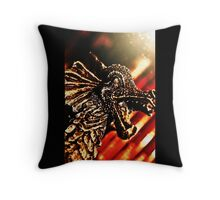 Amongst the Pyre Throw Pillow