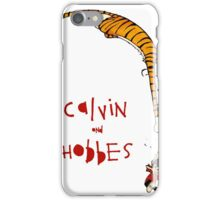 calvin and hobbes 99 iPhone Case/Skin