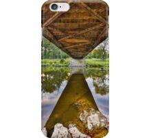 Covered Bridge Underbelly iPhone Case/Skin