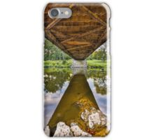 Covered Bridge Underbelly iPhone Case/Skin