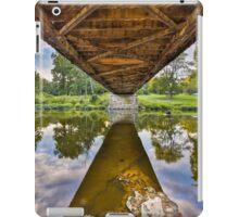 Covered Bridge Underbelly iPad Case/Skin