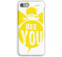 Bee You Cool Bee Graphic Typo Design iPhone Case/Skin