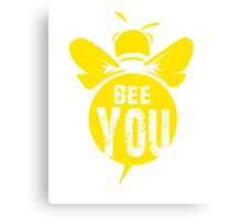 Bee You Cool Bee Graphic Typo Design Canvas Print