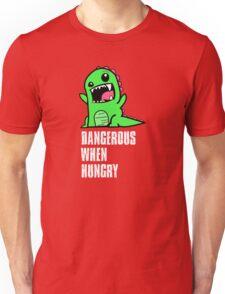 Dangerous When Hungry Unisex T-Shirt