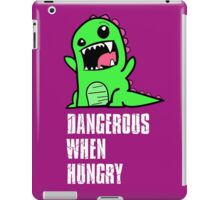 Dangerous When Hungry iPad Case/Skin