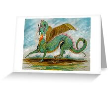 Dragon's Fire Greeting Card