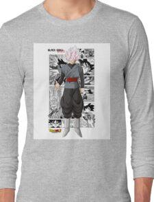 Super Saiyan Rose Black! Long Sleeve T-Shirt
