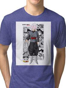 Super Saiyan Rose Black! Tri-blend T-Shirt