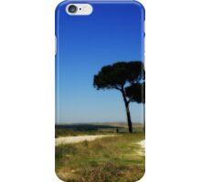 Blue Italian Summer Road iPhone Case/Skin