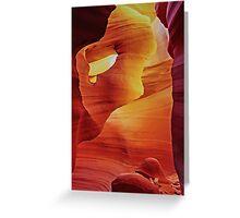 Hole In The Wall - Antelope Canyon - Arizona USA Greeting Card