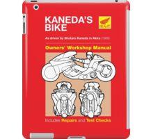 Owners' Manual - Akira - T-shirt iPad Case/Skin