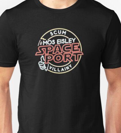 Star Wars Mos Esley neon insigna Unisex T-Shirt
