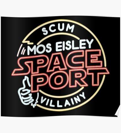 Star Wars Mos Esley neon insigna Poster