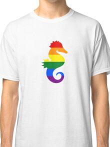 Seahorse - Gay/Lesbian Classic T-Shirt