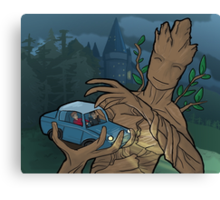 The Whomping Groot Canvas Print