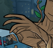 The Whomping Groot Sticker