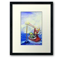 Wind Waker, Lone Ocean V2 Framed Print