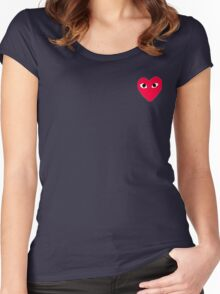 COMME DES GARÇONS PLAY Women's Fitted Scoop T-Shirt