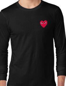 COMME DES GARÇONS PLAY Long Sleeve T-Shirt