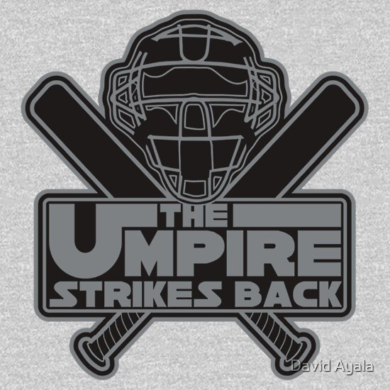 umpire strikes back t shirt