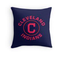 Cleveland Indians Baseball Throw Pillow