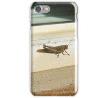 Grasshopper - 09 10 2016 iPhone Case/Skin