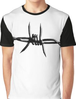 Barbed Wire, Fence, Conflict, War Graphic T-Shirt