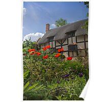 Ann Hathaway's Cottage, Stratford Upon Avon, UK Poster