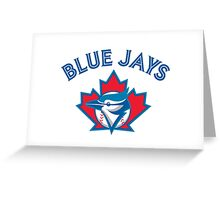 Toronto Blue Jays baseball Greeting Card