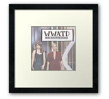 WWATD Framed Print