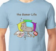 the  gamer life pusheen Unisex T-Shirt