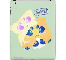 Sharing is Caring iPad Case/Skin