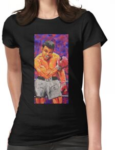 Muhammed Ali#1 Womens Fitted T-Shirt
