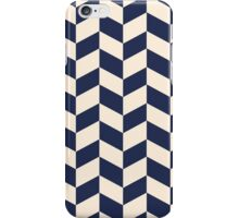 Navy and Cream iPhone Case/Skin