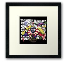 Killing Kefka  Framed Print