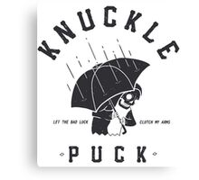 Knuckle Puck // let the bad luck clutch my arms Canvas Print