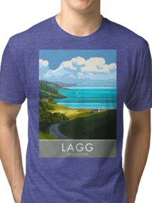 Lagg, The Isle of Jura Tri-blend T-Shirt