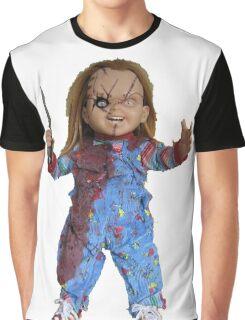 chucky, muñeca, diablos, mal, horror, Chukky, chuky, Graphic T-Shirt