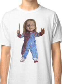chucky, muñeca, diablos, mal, horror, Chukky, chuky, Classic T-Shirt