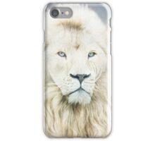 White Lion - Spirit Of Goodness iPhone Case/Skin