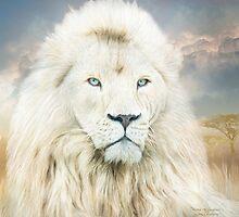 White Lion - Spirit Of Goodness by Carol  Cavalaris