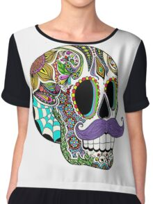 Cool Skull Chiffon Top