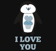 I love you penguin One Piece - Short Sleeve