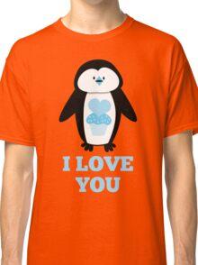 I love you penguin Classic T-Shirt