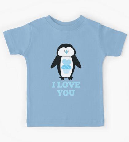 I love you penguin Kids Tee