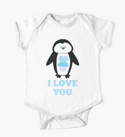 I love you penguin One Piece - Short Sleeve