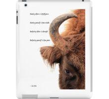 Wisdom, strength and power iPad Case/Skin